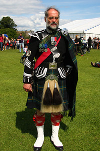 Typical Scottish dress