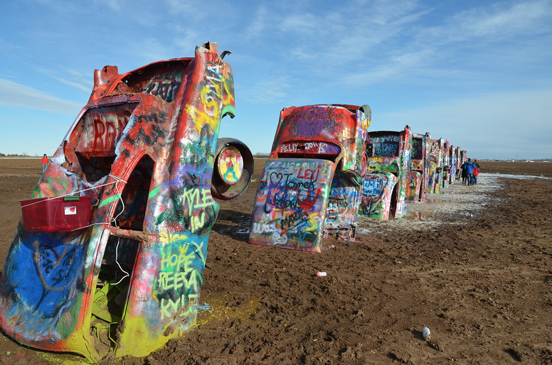 Cadillac Ranch 12/24/11