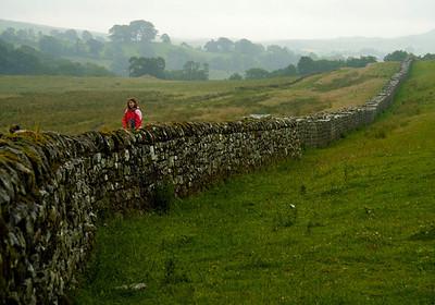 Hadrain's wall, England