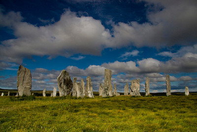 Calanais stones, Lewis, Scotland