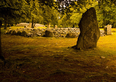 Clava cairn, Inverness, Scotland