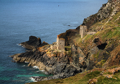 tin mines, Lands End, England