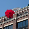 Umbrella on Front Street