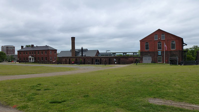 The Tredegar Iron Works buildings