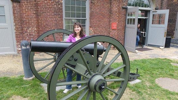 Diane with a cannon!