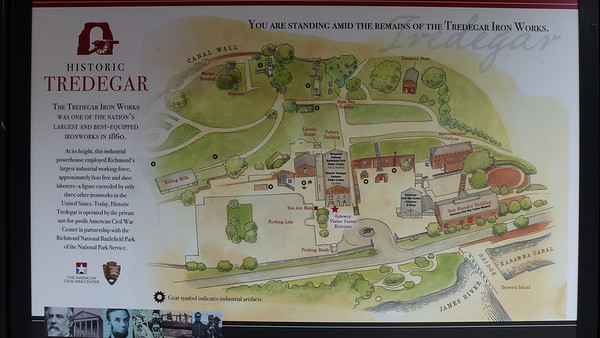 Tredegar Iron Works Visitor's Center Map