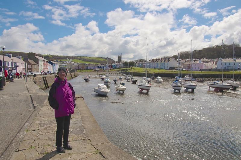 Aberaeron harbour
