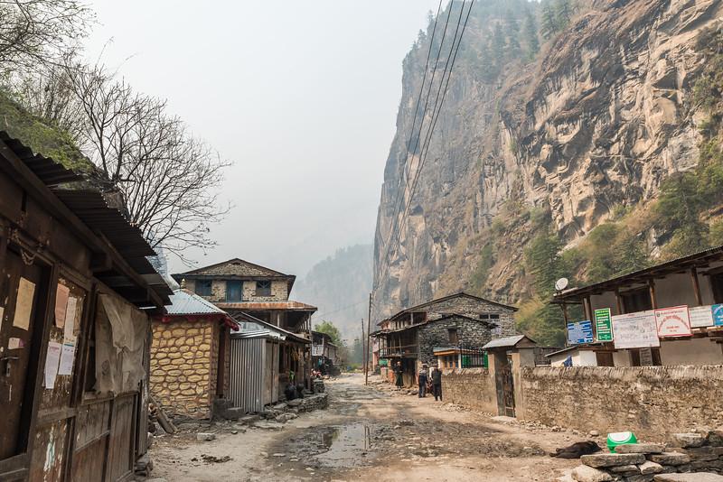 Dharapani Village,Manang