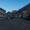 Quite morning in Manang