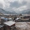 Snowcapped Manang