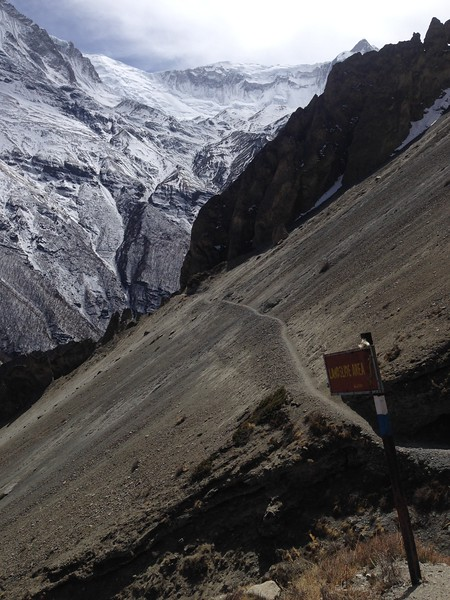 Landslide Area