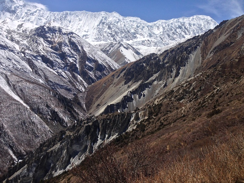 View of Landslide area