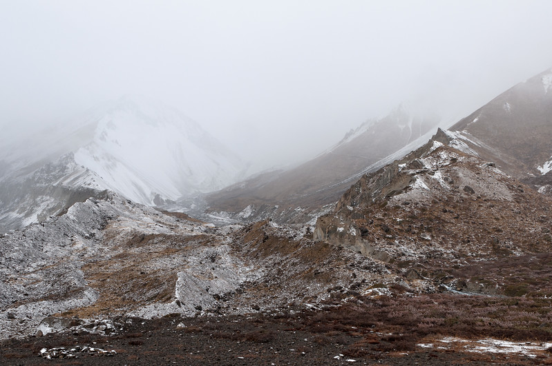 Foggy morning, Tilicho Base Camp