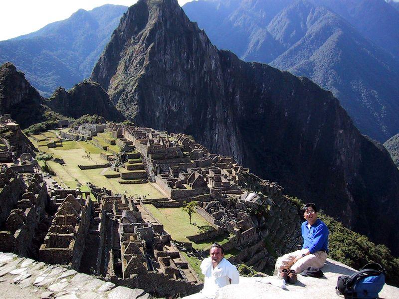 Machu Pichu, Peru, June 2000
