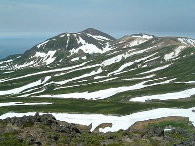Trekking in Hokkaido