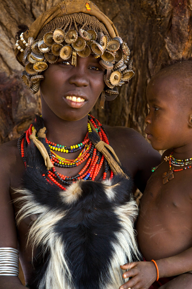 Nyangatom mother and child