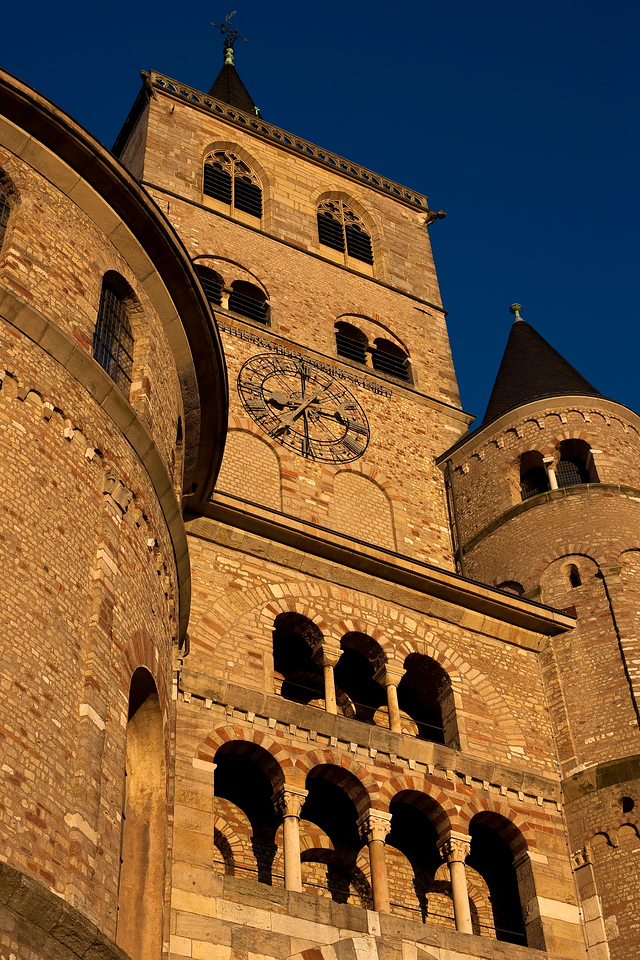 Detail of the Cathedral of Trier.