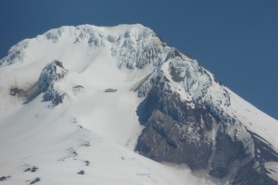 Close-up of Mt Hood
