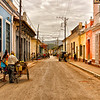 Very typical street in Trinidad
