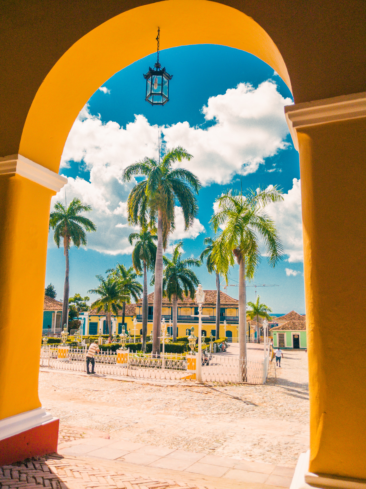 Plaza Mayor in Trinidad Cuba