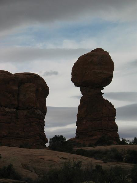 Balancing Rock; Arches National Park