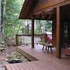 side of cabin (without Lisa)