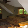 upstairs king bed view