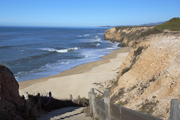Half Moon Bay Beach area