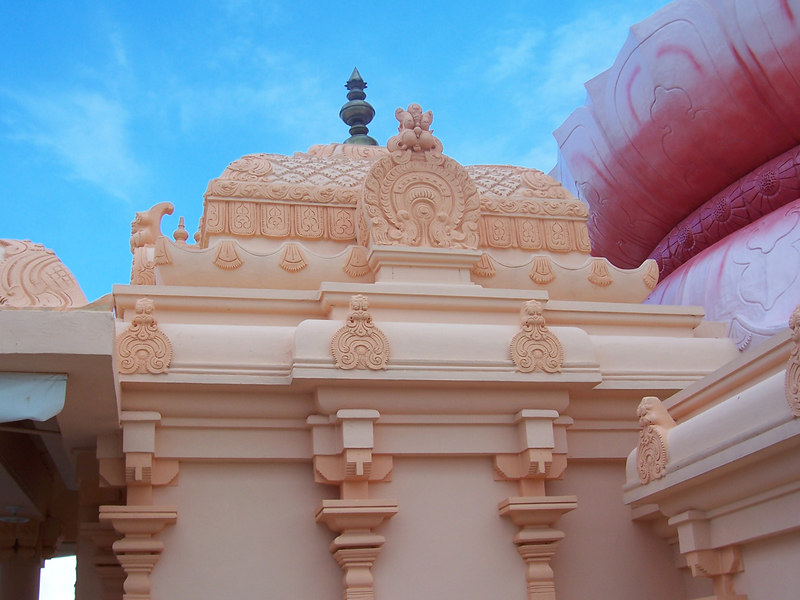 DYC temple - this was all hand carved