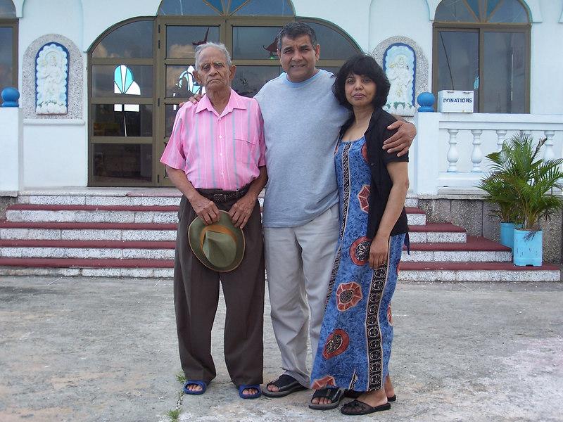 Mom, Dad and Dada