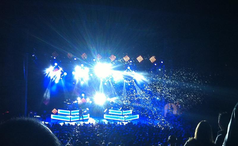 OneRepublic at The Santa Barbara Bowl.