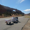 South of Moab Utah.  I have this exact pic, in another gallery here, with my 1500 Goldwing from a trip a few years ago...