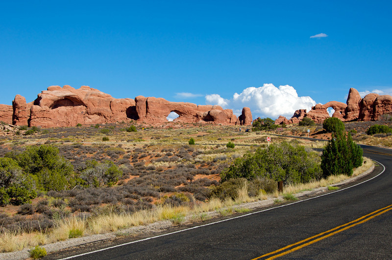 The Windows at Arches National Park