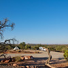 Dead Horse Campgrounds just outside of Canyonlands