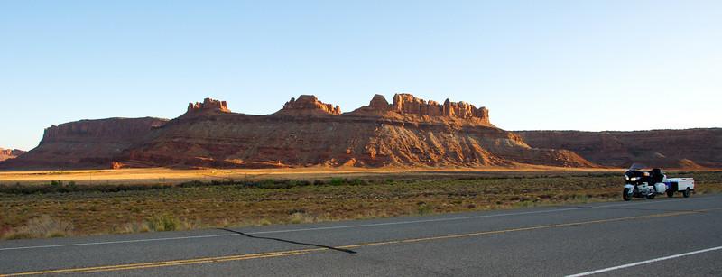 Road to Canyonlands National Park, Utah