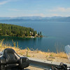 Flathead Lake along the 93 Hwy