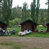 Almost ready to roll.  We had breakfast just south of here at North Fork, Idaho.