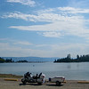 Flathead Lake, just south of Kallispel, MT on the 93 Hwy