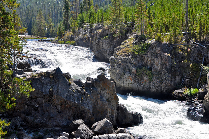 Firehole Canyon Yellowstone