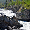 Firehole Canyon Yellowstone