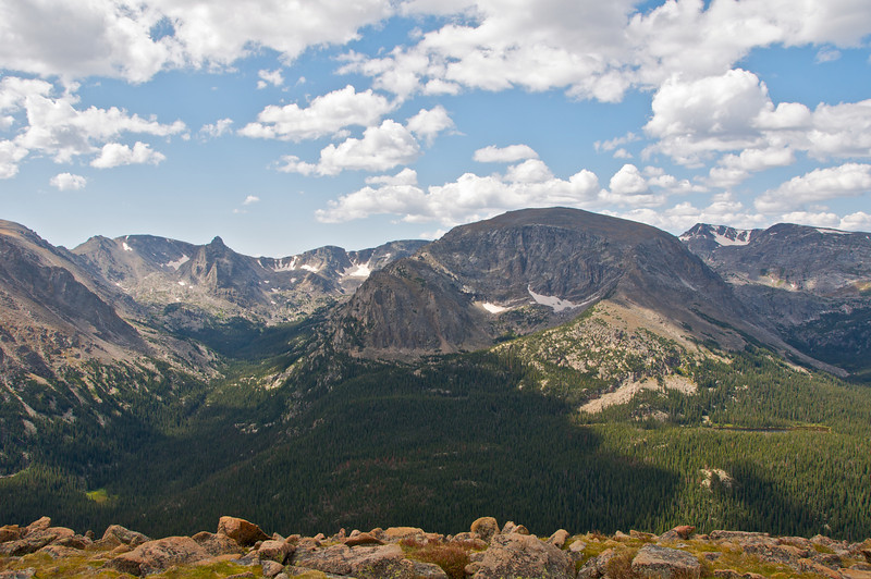Above the tree line, Rocky Mountain National Park