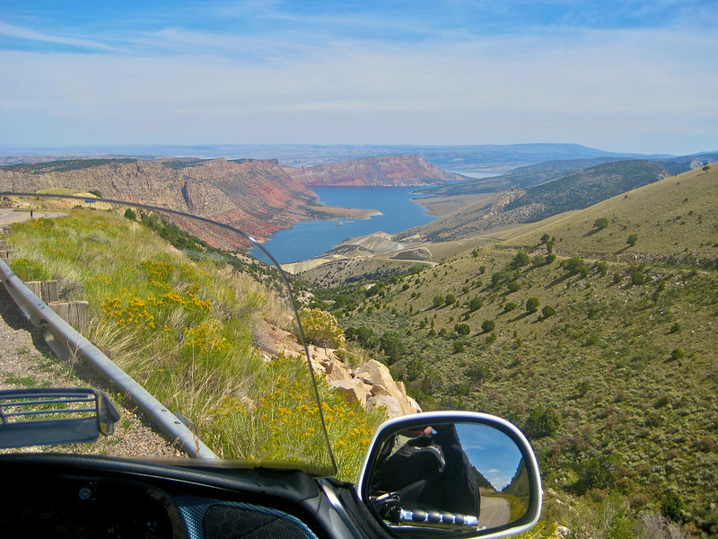 A different part of Flaming Gorge Recreation Area.  Almost to Wyoming.