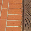 Sidewalk brick detail, Trinidad, CO.