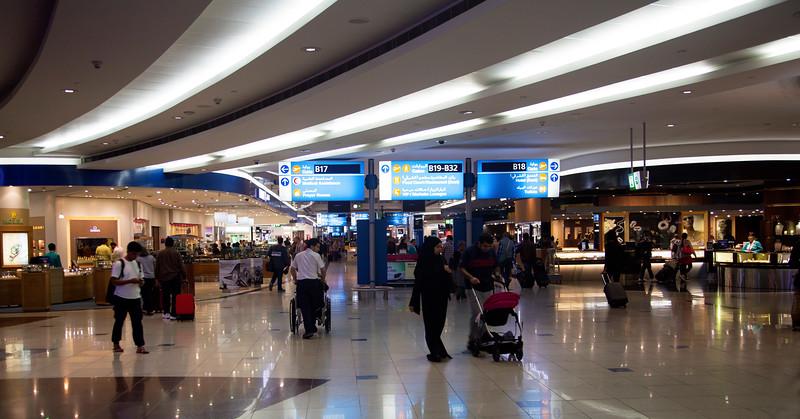Part of the Dubia Air Terminal