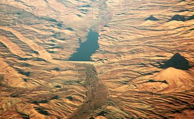 A flood control dam in Kermanshah Province