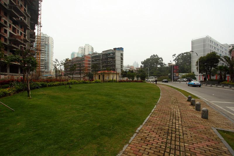 Near the hotel