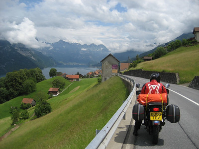 Working across Switzerland towards the Italian Dolomites