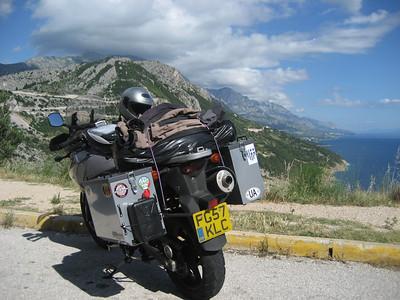 Croatia and my Suzuki DL650 !!!