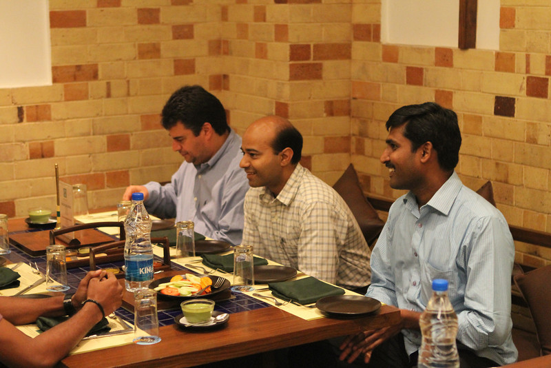 Team lunch at Barbeque Nation