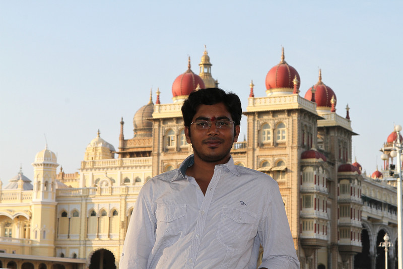 Mani at Mysore Palace
